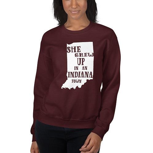 Indiana Girl Gildan Unisex Sweatshirt