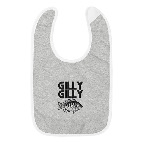 Gilly Gilly Embroidered Baby Bib