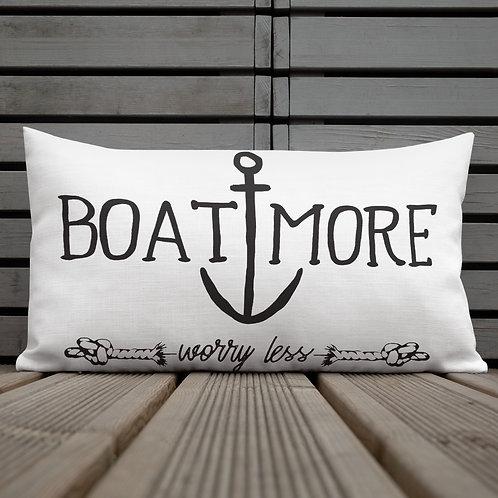 Boat More Premium Pillow