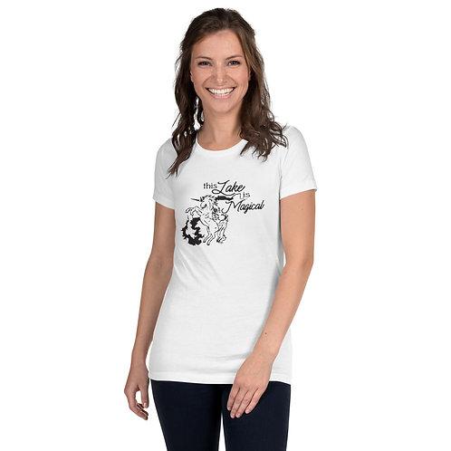 Magical Lake Women's Slim Fit T-Shirt
