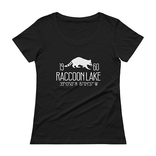 Raccoon Lake Ladies' Scoopneck T-Shirt