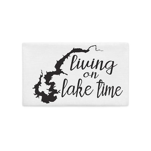 Lake Time Premium Pillow Case