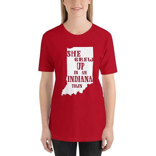 Indiana Town Bella Canvas 3001 Short-Sleeve Unisex T-Shirt