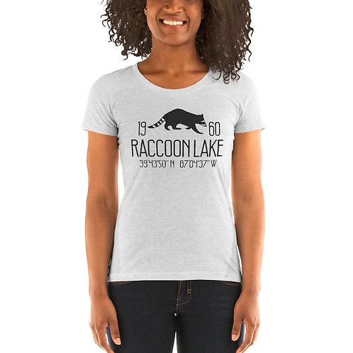 Raccoon Lake Bella Canvas Tri-Blend Ladies' Short Sleeve T-shirt