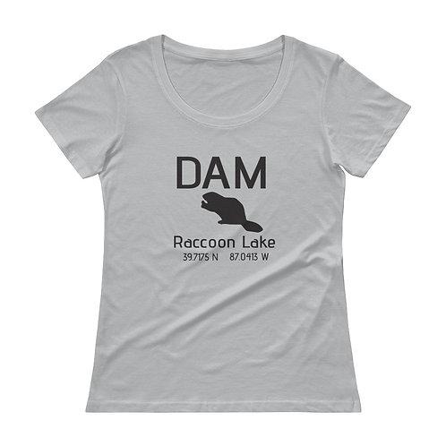 Dam Ladies' Scoopneck T-Shirt