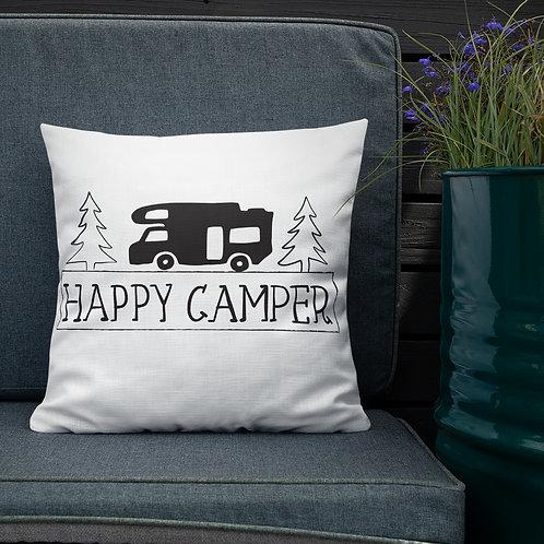 Happy Camper Premium Pillow