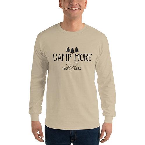 Camp More Gildan Men's Long Sleeve Shirt