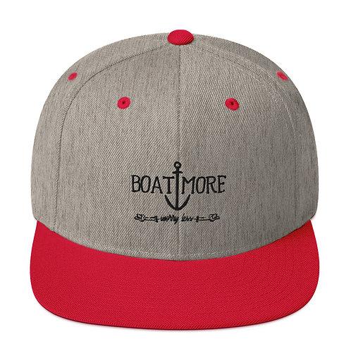 Boat More Snapback Hat