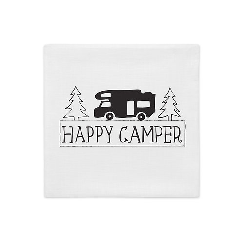 Happy Camper Premium Pillow Case