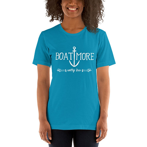 Boat More Bella Canvas 3001 Short-Sleeve Unisex T-Shirt