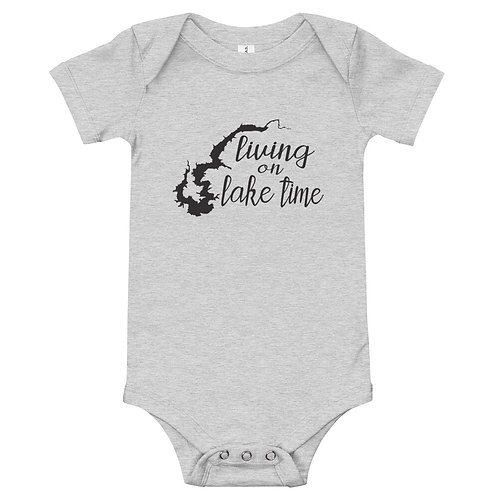 Lake Time Baby Onesie