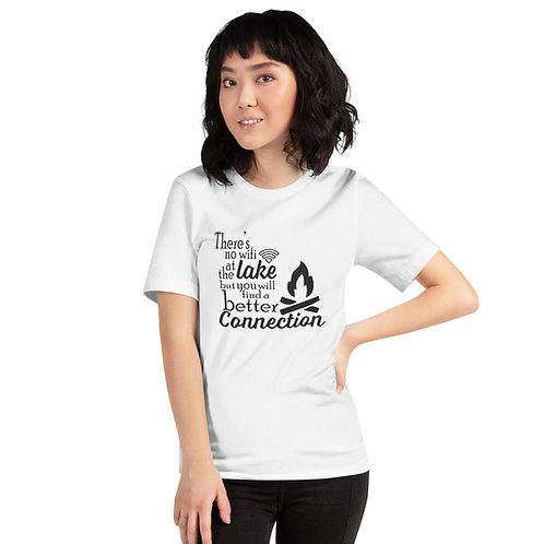 No Wifi Bella Canvas 3001 Short-Sleeve Unisex T-Shirt