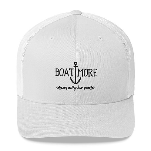 Boat More Trucker Cap