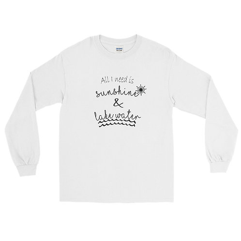 Sunshine and Water Men's Long Sleeve Shirt