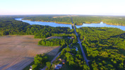 Drone over Raccoon Lake