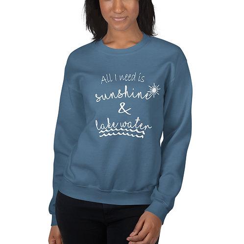 Sunshine and Water Gildan Unisex Sweatshirt
