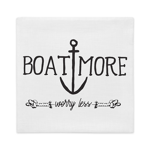 Boat More Premium Pillow Case