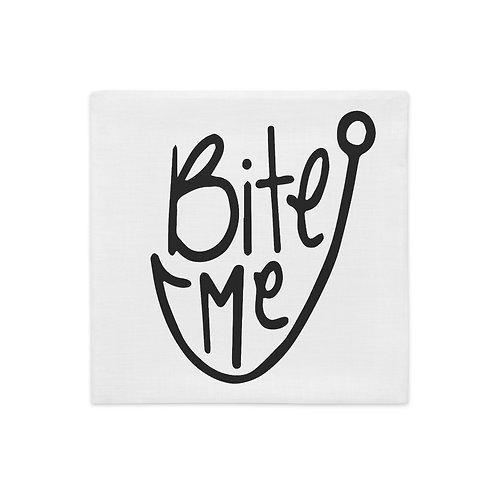 Bite Me Premium Pillow Case