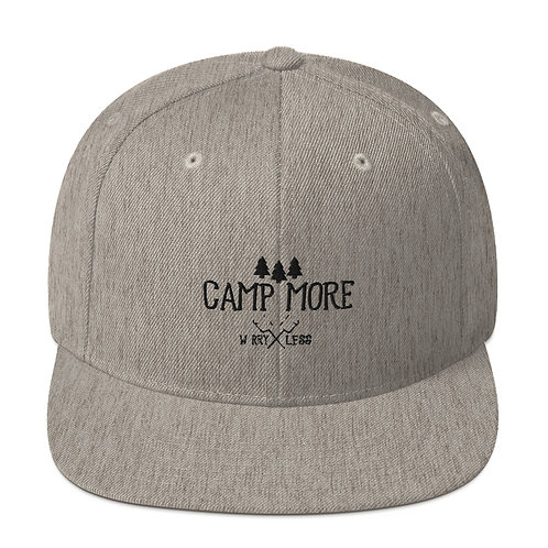 Camp More Snapback Hat