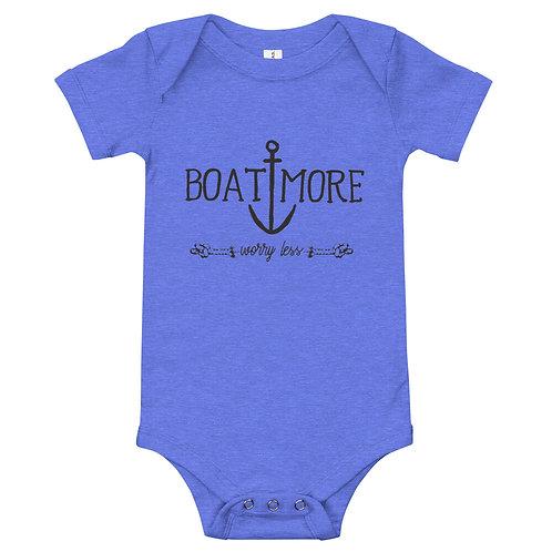 Boat More Baby Onesie