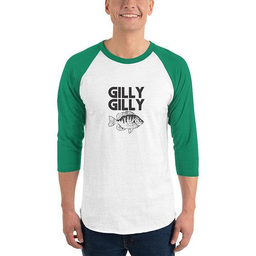 Gilly Gilly 3/4 sleeve raglan shirt