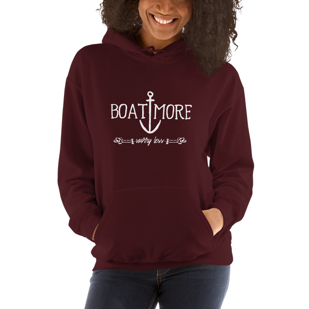 Boat More Worry Less Hoodie