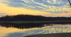 Sunset Raccoon Lake