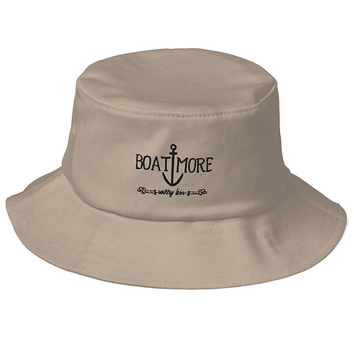 Boat More Old School Bucket Hat