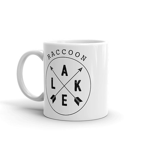 Raccoon Lake Compass Mug