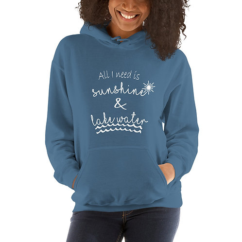 Sunshine and Water Gildan Unisex Hoodie