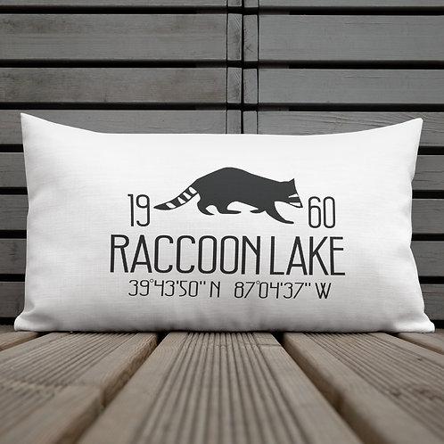 Raccoon Lake Premium Pillow