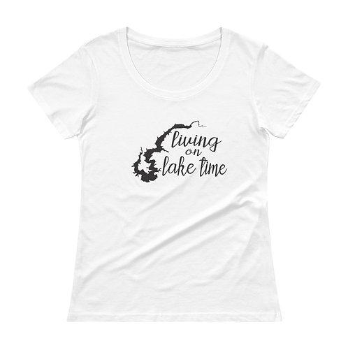 Lake Time Ladies' Scoopneck T-Shirt