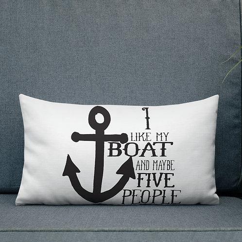 I Like My Boat Premium Pillow