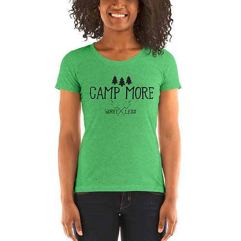 Camp More Bella Canvas Tri-Blend Ladies' Short Sleeve T-shirt