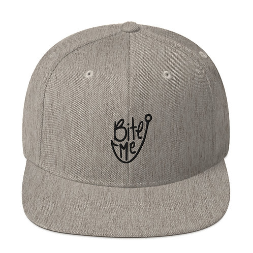 Bite Me Snapback Hat