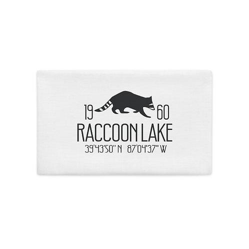 Raccoon Lake Premium Pillow Case