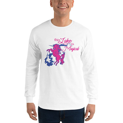 Magical Lake Gildan Men's Long Sleeve Shirt