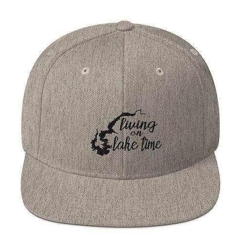 Lake Time Snapback Hat