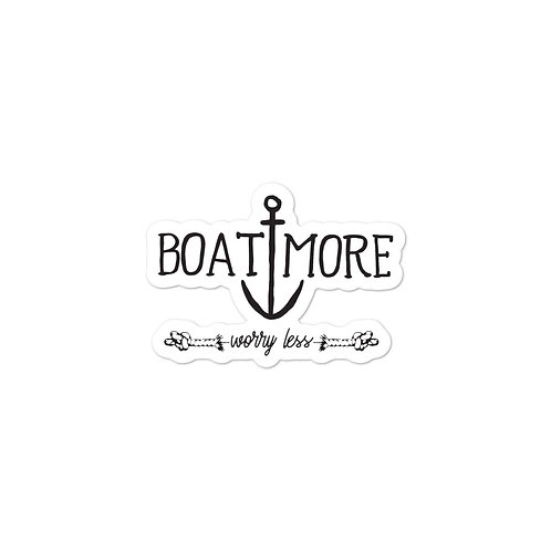 Boat More Bubble-free stickers