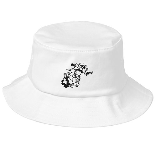 Magical Lake Old School Bucket Hat