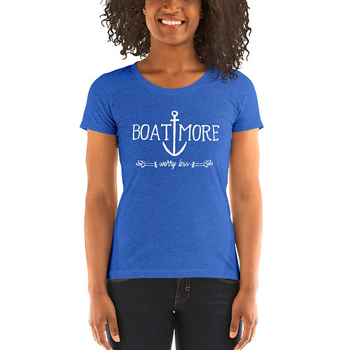 Boat More Bella Canvas Tri-Blend Ladies' Short Sleeve T-shirt