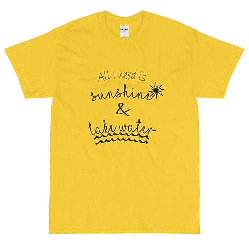 Sunshine and Water Gildan 2000 Short Sleeve T-Shirt