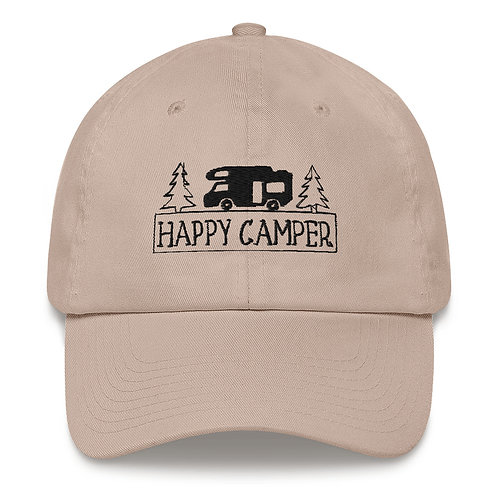 Happy Camper Dad hat