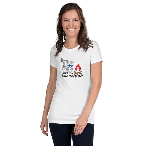 No Wifi Women's Slim Fit T-Shirt