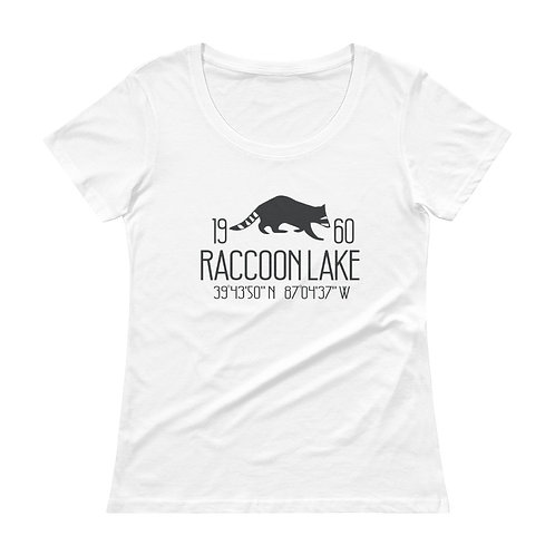 Raccoon Lake Ladies' Scoopneck T-Shirt