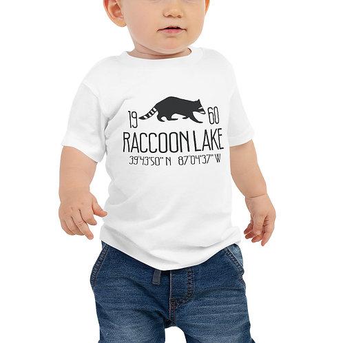 Raccoon Lake Baby Jersey Short Sleeve Tee