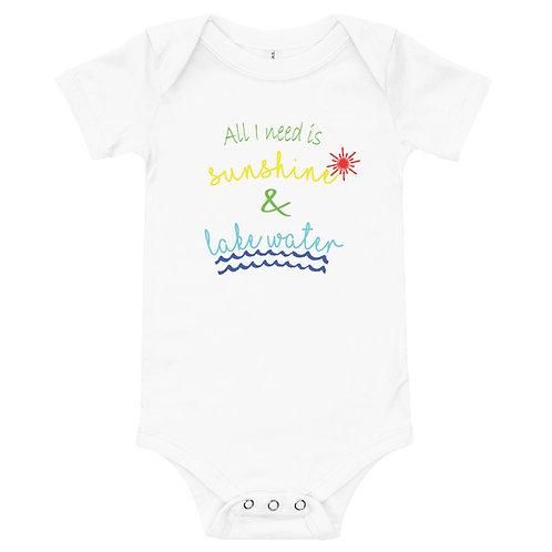 Sunshine and Water Baby Onesie