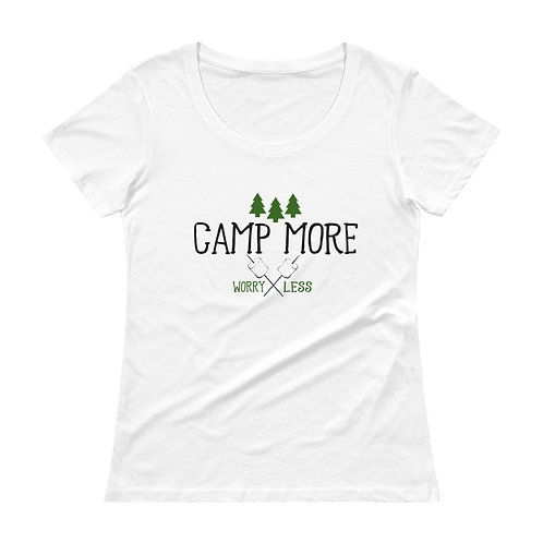 Camp More Ladies' Scoopneck T-Shirt