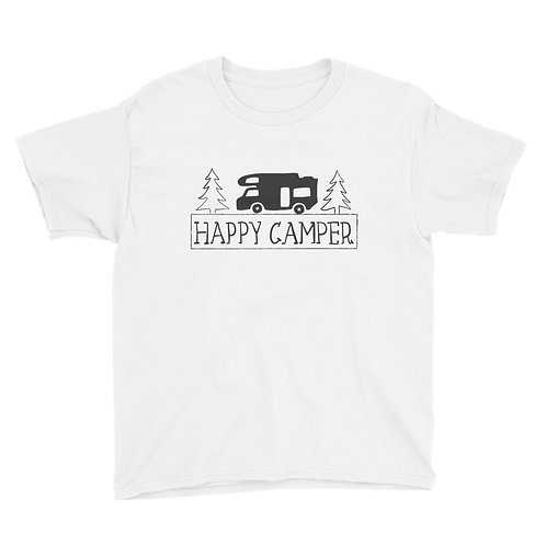 Happy Camper Youth Short Sleeve T-Shirt