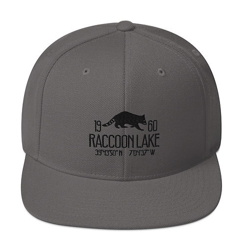 Raccoon Lake Snapback Hat